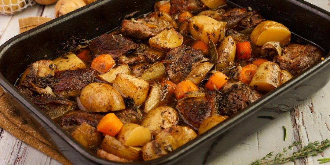 Μοσχάρι στο φούρνο με πατάτες - Images