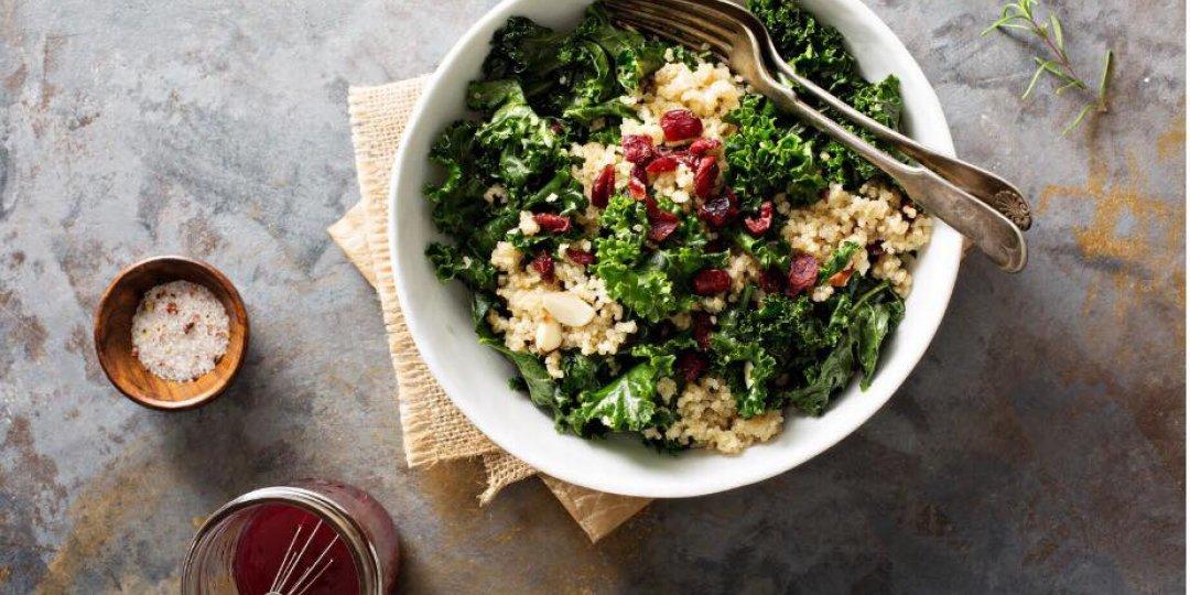 Ανοιξιάτικη σαλάτα με κινόα και cranberries  - Images
