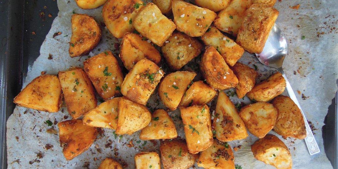 Τραγανές πατάτες φούρνου - Images