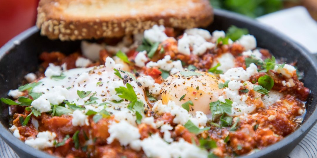 Shakshuka: Αυγά σε σάλτσα ντομάτας με φέτα - Images
