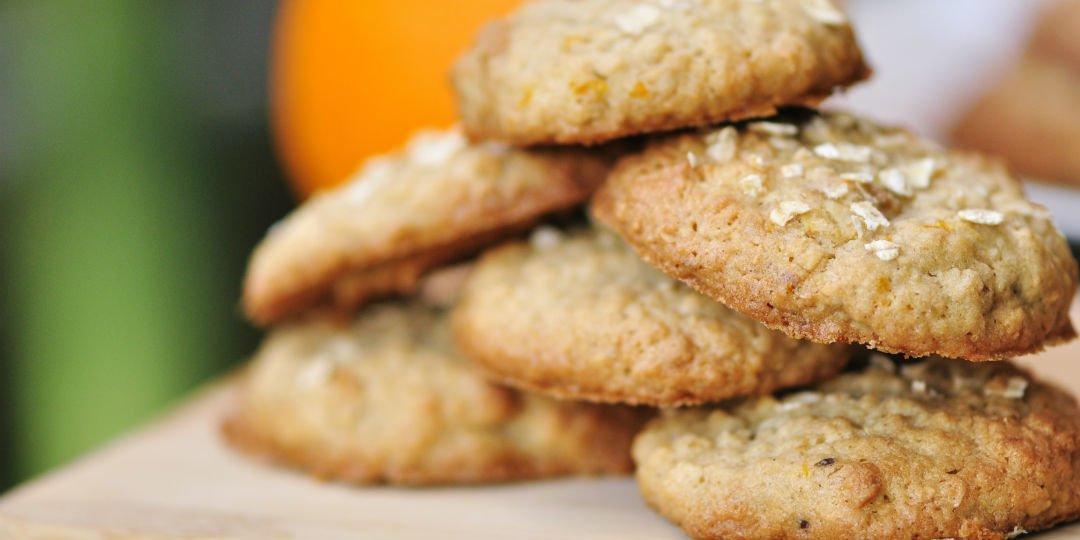 Μπισκότα με ταχίνι, μέλι και βρώμη - Images