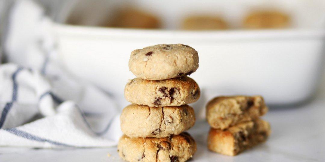 Πεντανόστιμα μπισκότα με ταχίνι και αλεύρι αμυγδάλου - Images