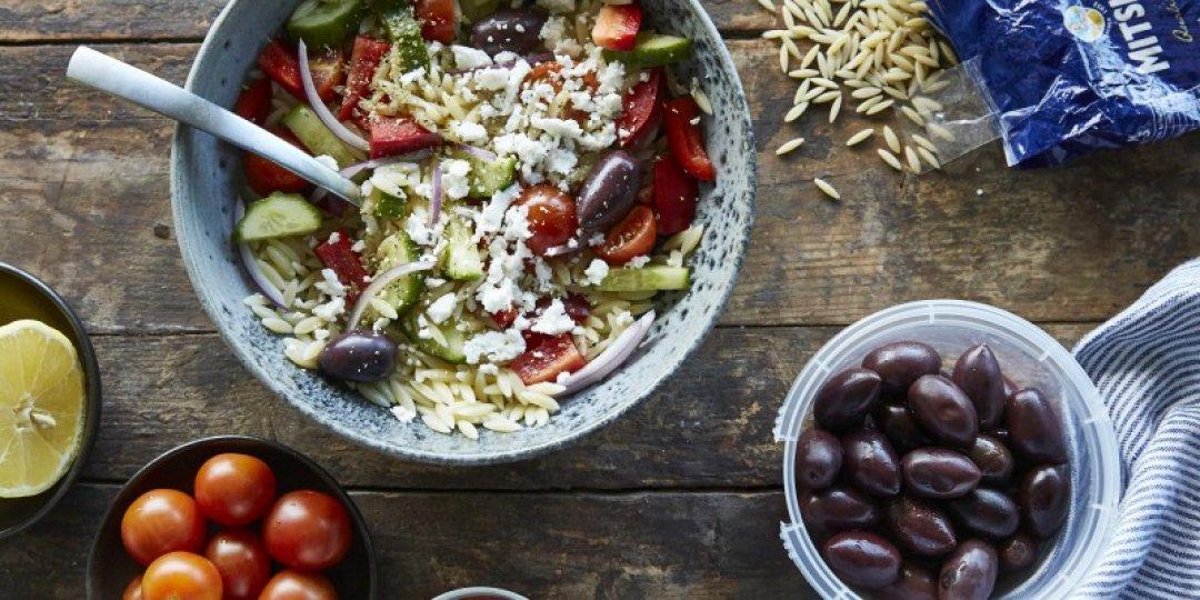 Ελληνική Σαλάτα Κριθαράκι - Images