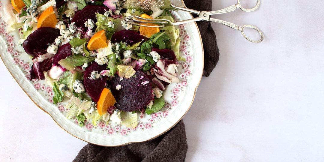 Σαλάτα με πίκλα παντζαριού - Images