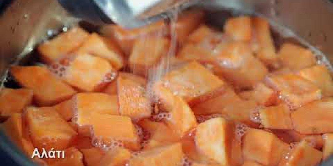 Τσιπούρα Blue Island στο φούρνο με πουρέ γλυκοπατάτας (video) - Κεντρική Εικόνα