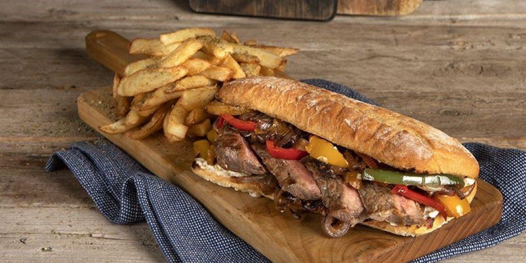 Λαχταριστό philly steak sandwich - Images