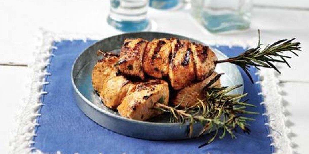 Κοτόπουλο μίνι σουβλάκι Foodsaver σε καλοκαιρινή μαρινάδα - Images