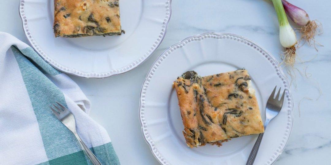 Πανεύκολη σπανακόπιτα με φέτα χωρίς φύλλο - Images