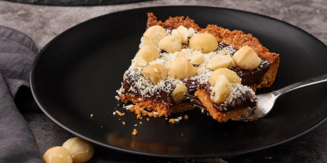 Τάρτα σοκολάτας με φουντούκια - Images