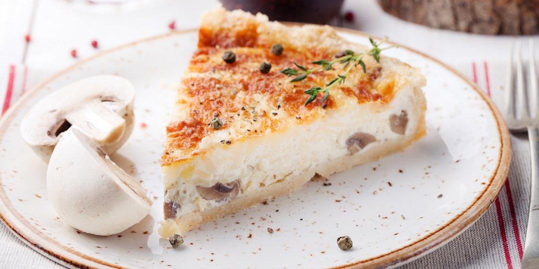 Πίτα με μανιτάρια και κρεμμύδια  - Images