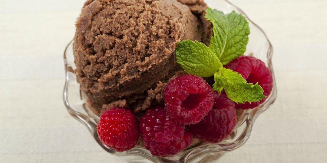 Παγωμένο γιαούρτι με σοκολάτα  - Images