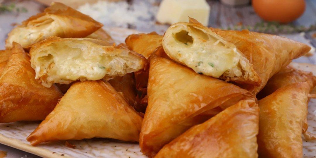 Τυροπιτάκια με φύλλο κρούστας - Images