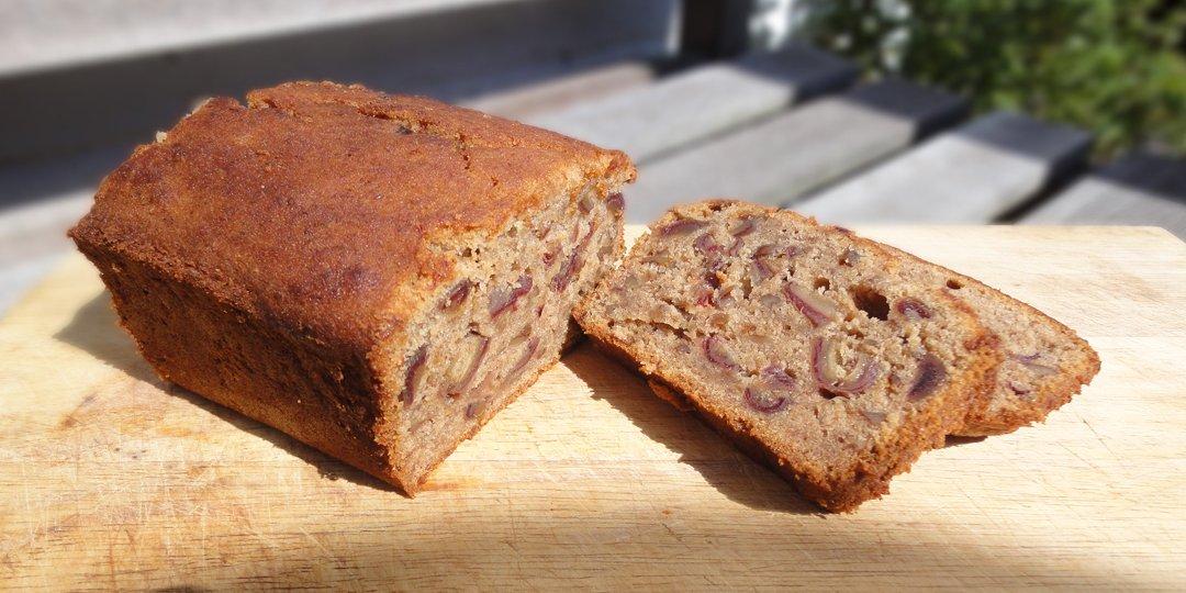 Νηστίσιμο κέικ με καρύδια και σταφίδες - Images