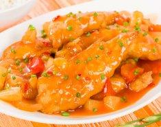 Κοτόπουλο με γλυκόξινη σάλτσα - Images