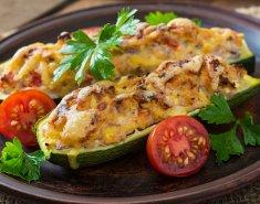 Κολοκυθάκια γεμιστά με κοτόπουλο - Images