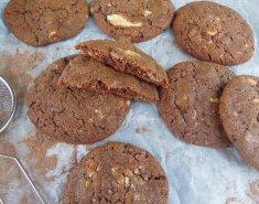 Σοκολατένια μπισκότα με κομμάτια σοκολάτας  - Images