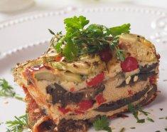 Μανιταρόπιτα με ντομάτα - Images