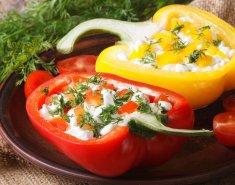 Πιπεριές γεμιστές με τυριά - Images