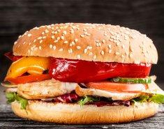 Μπέργκερ κοτόπουλου  - Images
