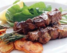Σουβλάκι Foodsaver από αρνίσιο μπουτάκι Νέας Ζηλανδίας γλασαρισμένο με μέλι - Images