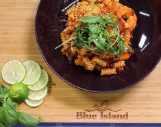 Βίδες με Γαρίδες  Blue Island και κόκκινη σάλτσα  - Images