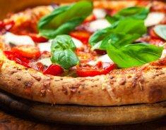 Πίτσα με σαλάμι και μοτσαρέλα  - Images