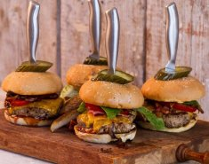 Σπιτικά burgers - Images