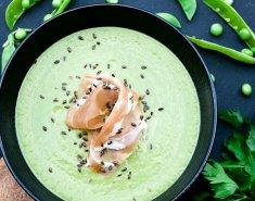 Σούπα με αρακά και ζαμπόν - Images