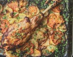 Αρνί μπούτι Ν. Ζηλανδίας FOODSAVER με γιαούρτι στο φούρνο - Images