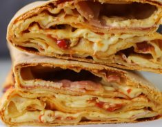Σισιλιάνικο γεμιστό ψωμί (Scaccia) - Images