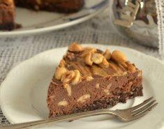 Σοκολατένια τάρτα με φιστικοβούτυρο - Images