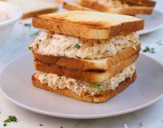 Σαντουιτσάκια με τονοσαλάτα FOODSAVER - Images