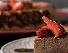 Ελαφρύ σοκολατένιο cheesecake - Images