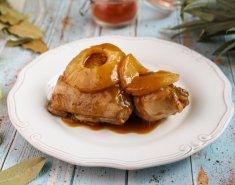 Γιορτινό κοτόπουλο με Ανανά Del Monte - Images