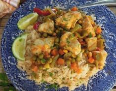 Κοτόπουλο με κάρι και λαχανικά - Images