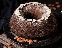 Κέικ σοκολάτας με αμύγδαλο - Images