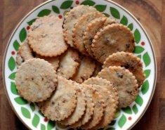 Αλμυρά μπισκότα με ελιές  - Images