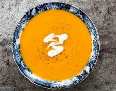 Γιορτινή σούπα γλυκοπατάτας με ginger  - Images