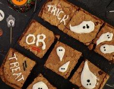 Halloween brownies με φυστικοβούτυρο - Images
