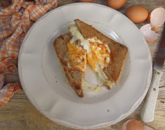 Σάντουιτς γεμιστό με αυγό και τυρί - Images