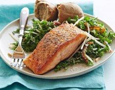 Super Food Σολομός με Kale - Images