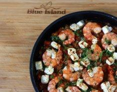 Γαρίδες Blue Island σαγανάκι  - Images