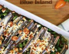 Γαύρος Blue Island σαγανάκι στον φούρνο - Images