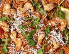 Γιουβέτσι με γαρίδες - Images