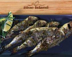 Γόπα Blue Island σκορδάτη στο φούρνο - Images