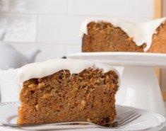 Κέικ καρότου με γλάσο τυρί κρέμα - Images