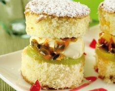 Κέικ με φρούτα του πάθους και αμύγδαλο - Images
