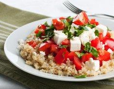 Superfood: Κινόα με σπανάκι, μελιτζάνα και φέτα FOODSAVER - Images