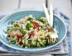 Κινόα με γαρίδες και λαχανικά - Images