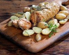 Ρολό κοτόπουλο με σάλτσα μουστάρδας - Images